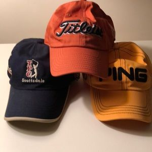 3 for 1! Golf hat pack